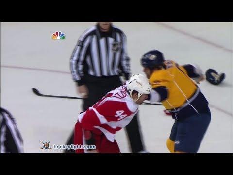 Todd Bertuzzi vs Shea Weber