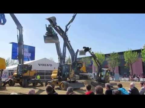 Intermat Paris 2015 Volvo Show
