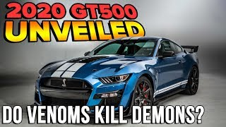 Should Demon Owners Be Worried? 🤔 | 700+ HP 2020 Ford Shelby GT500 UNVEILED