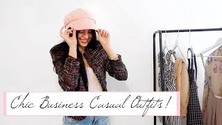 Business Casual Lookbook | 7 Affordable Chic Outfits!