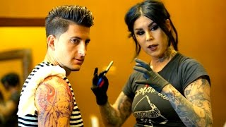 GETTING A TATTOO FROM KAT VON D