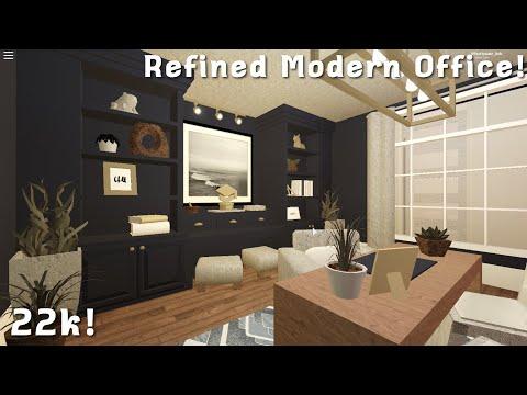 , title : 'Roblox | Bloxburg: Refined Modern Office speedbuild! |22k!| Affectionate_Ash |