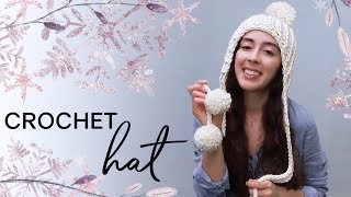 How to Crochet a Hat for Winter — EASY for Complete Beginners