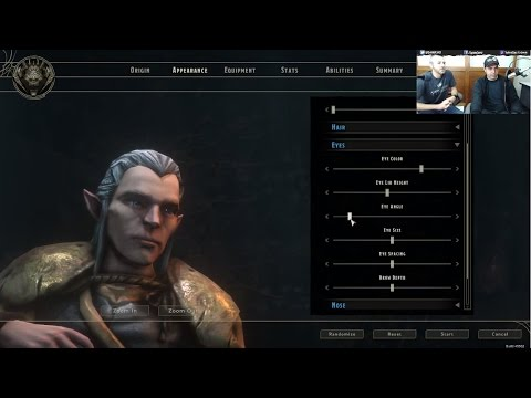 Character Creation Live!
