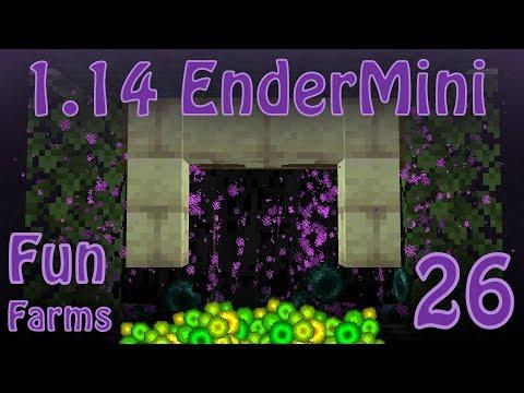 ENDERMAN FARM - SIMPLE & EASY (Max Level in 2min
