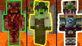 Конкурс Скинов в Майнкрафте №7! ТОП СКИНЫ МОНСТРОВ! Minecraft Skin