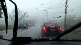 preview picture of video 'Hail in West Chester, PA - 5-22-14'