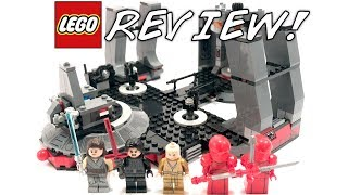 LEGO Star Wars 75216 Snoke's Throne Room Review!   MISSING A PIECE!