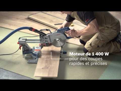 Scie à onglet radiale Bosch GCM800SJ