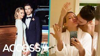 Detailed Look In Hilary Duff & Matthew Komas Fairy Tale Wedding