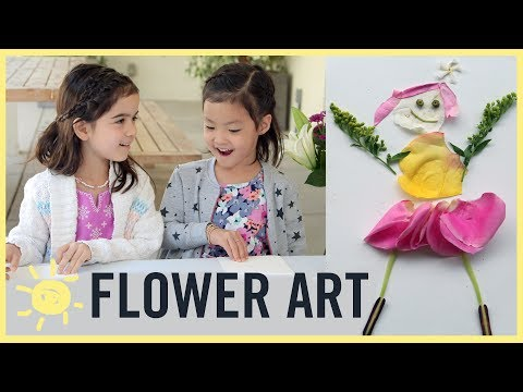 PLAY | Flower Art!