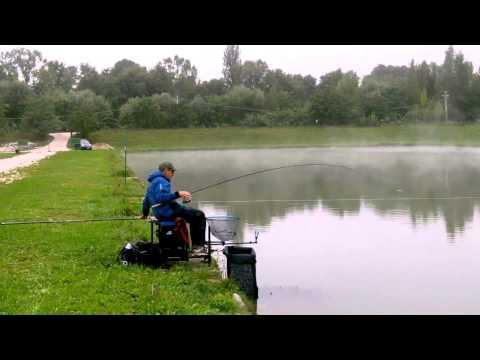Nellinverno pescando su video Di Amur