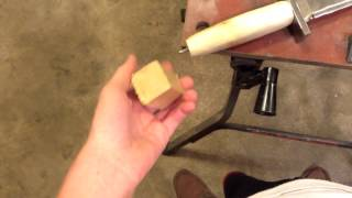 How to Make a Wooden Sword Handle! (Tutorial for Beginners)