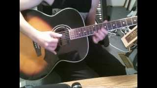 Some Acoustic FACGCE Riffs