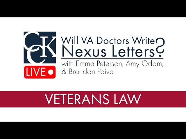 Will VA Doctors Write Nexus Letters?