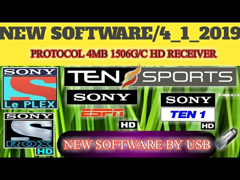 Good News! Protocol Receivers Sony Network New Software