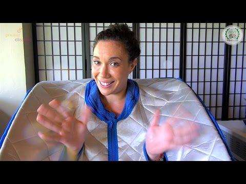 Far Infrared Ozone Sauna – Guide with Sara – Phuket Cleanse Detox in Thailand