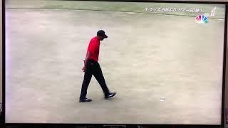 PGAツアー最終戦タイガーウッズ優勝の瞬間