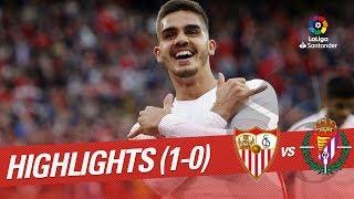 Highlights Sevilla FC Vs Real Valladolid (1-0)