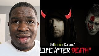 Eminem Clone ? | Eminem - Life After Death (MGK DISS RESPONSE) REACTION