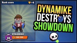 DYNAMIKE Push to 500 Trophies! Showdown Skull Creek + Box Opening [Brawl Stars]
