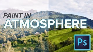 How to add ATMOSPHERE in Photoshop with HISTORY BRUSH