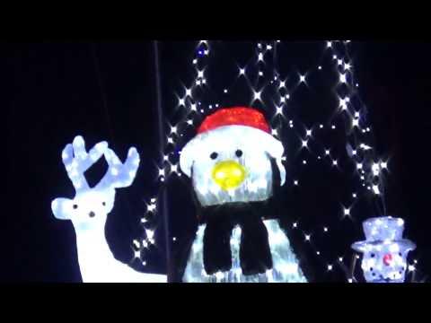 Weihnachtsfiguren Weihnachten LED Beleuchtung Snowman figure LED lighting