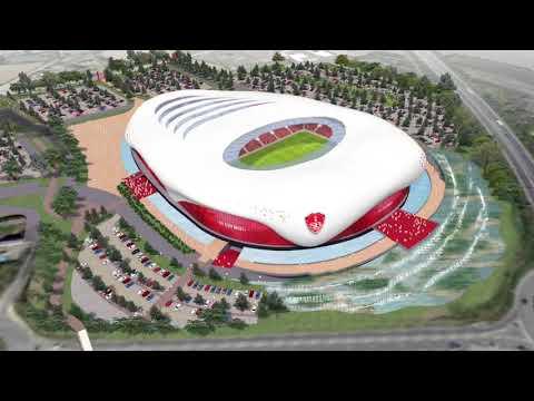 Le projet du nouveau stade évoqué par le Président
