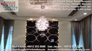 preview picture of video 'BUNGALOW FOR SALE - Tropical Design Resort Bungalow - Tropicana - Petaling Jaya. Selangor. Malaysia.'