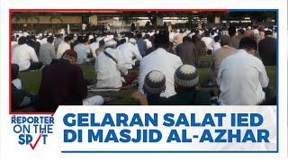 Masjid Agung Al-Azhar Gelar Salat Idul Fitri Berjamaah