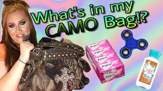 Whats In My Camo Bag!? | Big Reveal | Unbagging | NaughtyStrawberry