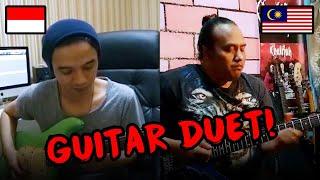 Guitarist Social Distancing Bersama Apak Harry Khalifah & Oncy Ungu!