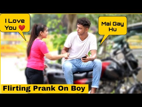 Flirting Prank On Boy With Twist Gone Wrong | P4 Prank
