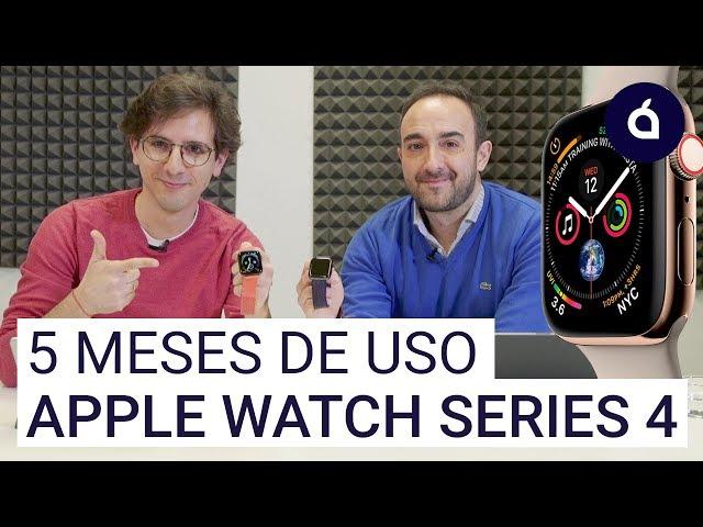 OPINIÓN del APPLE WATCH SERIES 4 tras 5 meses de uso | Las Charlas de Applesfera