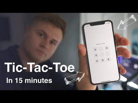 How to Program Tic-Tac-Toe in 15 minutes. (SwiftUI | Xcode) thumbnail