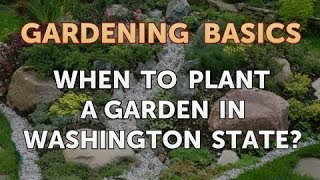 When to Plant a Garden in Washington State?