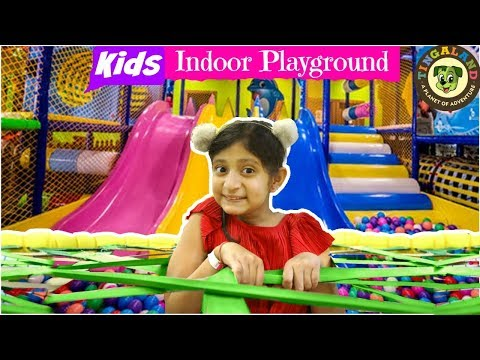 KIDS Fun Indoor/Outdoor PLAY GROUND | #Tingaland #PlayArea #MyMissAnand #ToyStars
