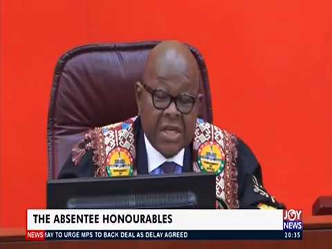 The Absentee Honourables - Joy News Editorial (22-3-19)