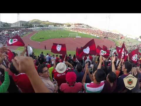 """""""""""El Capi color"""" Mineros de Zacatecas vs Alebijes de Oaxaca"""" Barra: División del Norte • Club: Mineros de Zacatecas"""