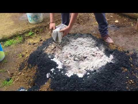 Mejoramiento del suelo: Abono orgánico fermentado tipo Bocacci