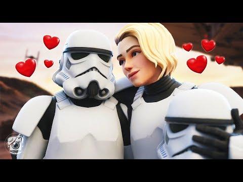 A STORMTROOPER LOVE STORY... *STAR WARS* (A Fortnite Short Film)