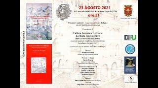 23 agosto 2021 – Presentazione del Bollettino Storico 43-44 in onore di Fabio Bettoni