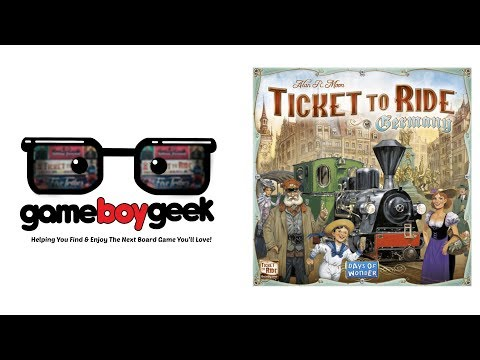 The Game Boy Geek Reviews Ticket to Ride: Germany