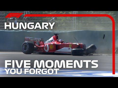 F1 忘れられないハンガリーGP TOP5動画