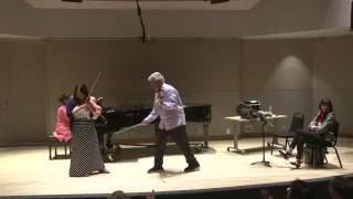 2016 Pinchas Zukerman violin masterclass   Classe de maître avec Pinchas Zukerman 2016