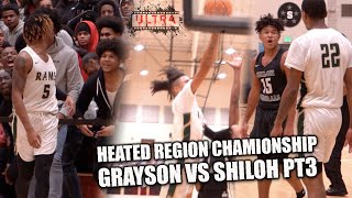 Grayson vs Shiloh HEATED REGION CHAMPIONSHIP BROUGHT THE WHOLE CITY OUT!! | FULL GAME HIGHLIGHTS