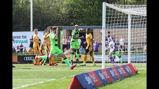 HIGHLIGHTS |  Forest Green Rovers 2 Cambridge United 1