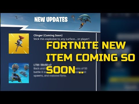Fortnite New Update Clinger (Gameplay Coming Soon)