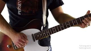 Country Pickin' Solo in G - Here's a Quarter - Guitar Lesson