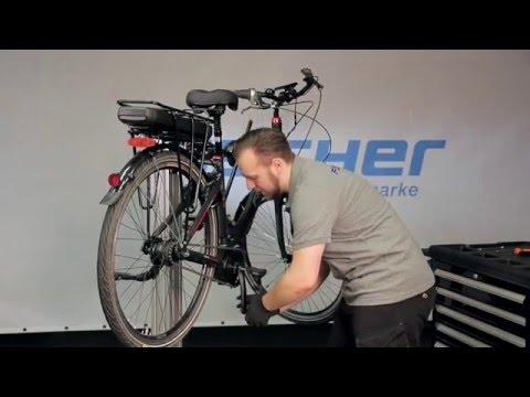 FISCHER - Mittelmotor Ein- und Ausbau